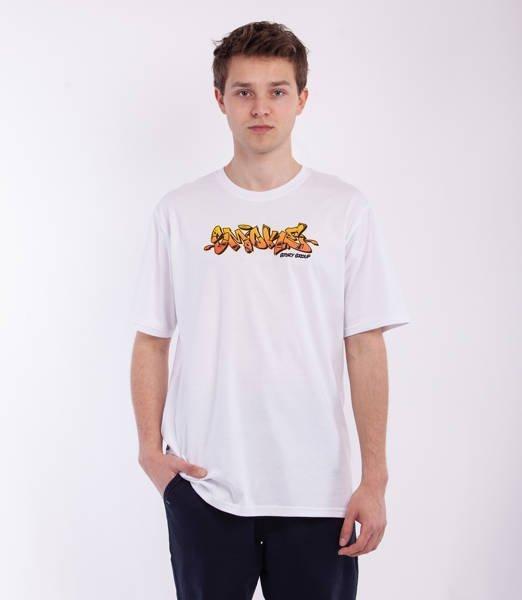 Smoke Story GRAFFITI SSG T-Shirt Biały