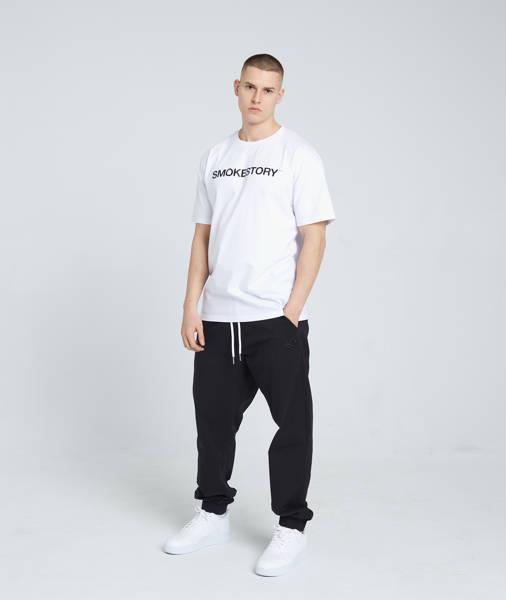 Smoke Story RAGLAN STRAIGHT T-Shirt Biały