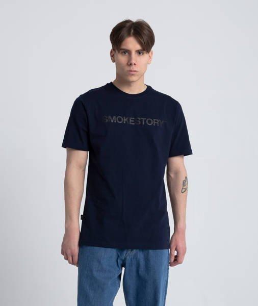 Smoke Story RAGLAN STRAIGHT T-Shirt Granatowy