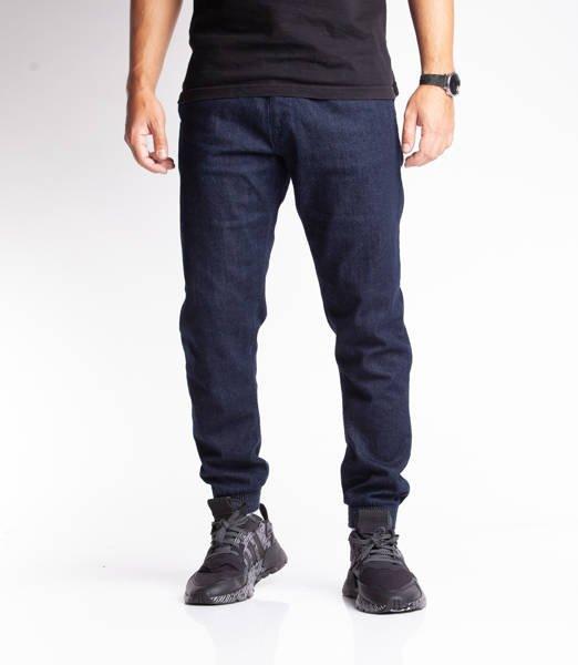 Smoke Story SKIN Jogger Slim Jeans Dark Blue