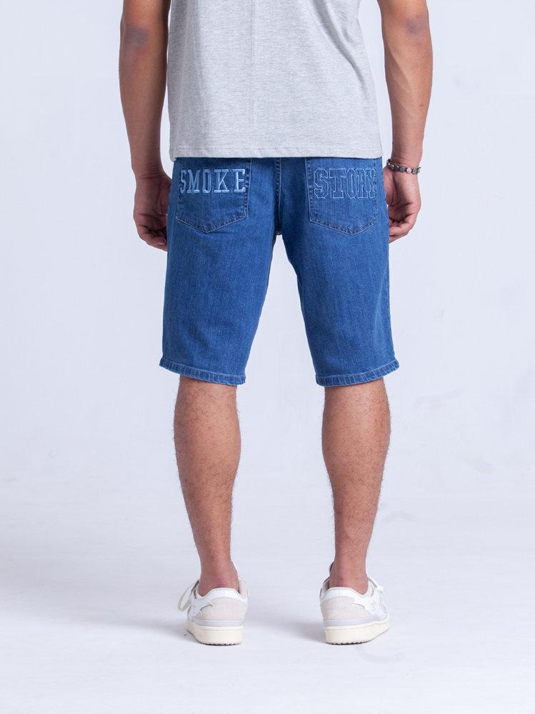 Smoke Story SMOKESTORY Krótkie Spodnie Jeans light