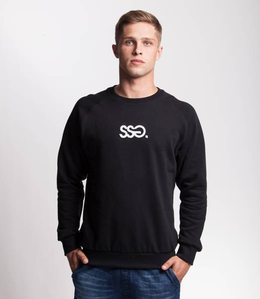 Smoke Story SSG 3D EFFECT Bluza bez kaptura Czarny