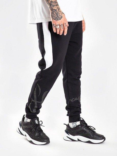 Stoprocent LEGTAG Spodnie Dresowe Czarny