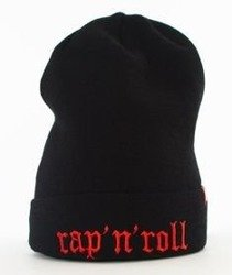 Stoprocent-Rap'n'Roll Czapka Zimowa Black/Red