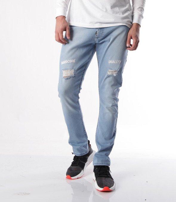 Stoprocent-SJ Carrot HCQUALITY Jeans Niebieskie
