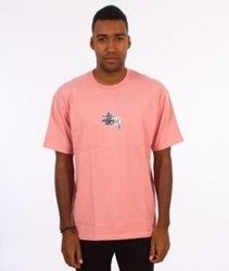 Stussy-Prism Logo T-Shirt Dusty Rose