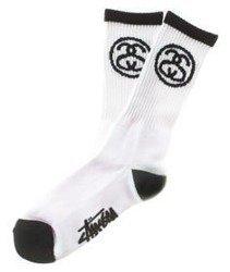 Stussy-SS Link Socks Skarpetki White