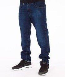 Tabasko-Classic Spodnie Jeansowe Dark Blue