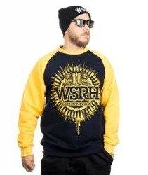 WSRH-Słońce Raglan Bluza Granatowa/Żółta