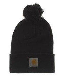 Carhartt-Bobble Watch Hat Czapka Zimowa Black