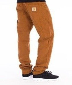 Carhartt-Fort Pants Spodnie Brown Stone Washed Straight Leg L32