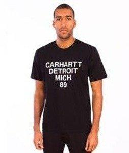 Carhartt-Mich T-Shirt  Black/White