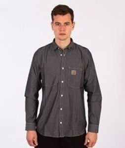 Carhartt- State Shirt Black Rinsed
