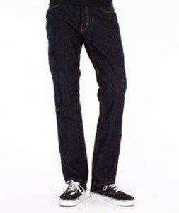 Carhartt-Western Pants Spodnie Blue Rinsed Straight Leg L32