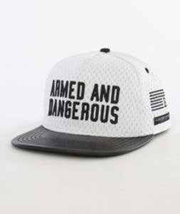 Cayler & Sons-Armed N' Dangerus Cap Snapback White/Black