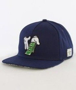 Cayler & Sons-Make It Rain Cap Snapback Navy/Multicolor