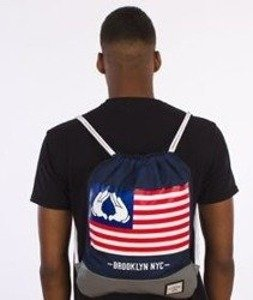 Cayler & Sons-Salute Gym Bag Navy/Grey/Multicolor