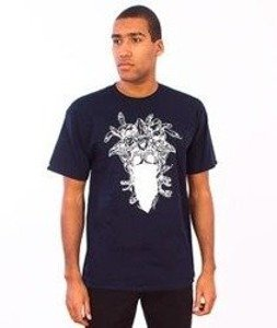 Crooks & Castles-Gorgon Medusa T-Shirt  Navy