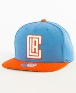 Mitchell & Ness-LA Clippers Snapback EU956 Blue/Orange