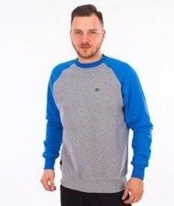 Nervous-Pin Bluza Szara/Niebieska