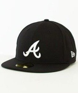 New Era-Atlanta Braves Czarna