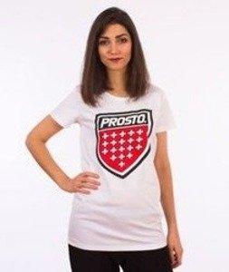 Prosto-Assist T-shirt Damski Biały