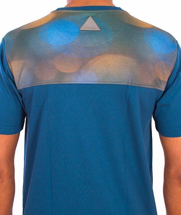 Alkopoligamia-Blind Cut T-shirt Turkusowy