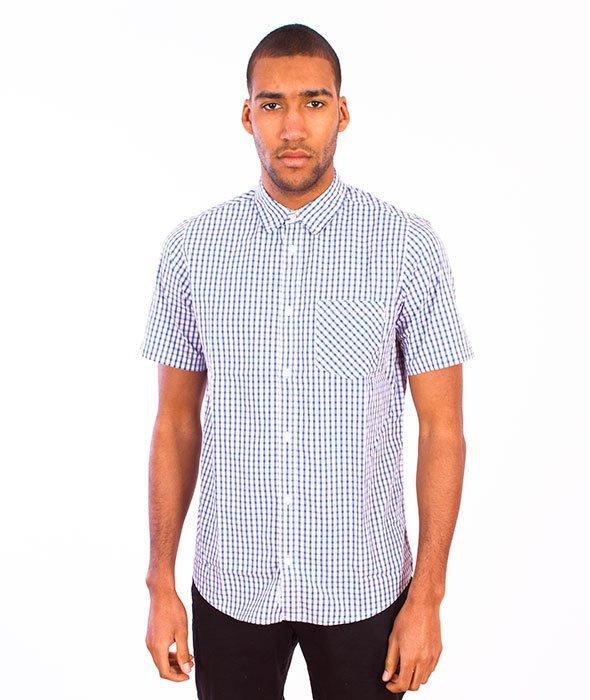 Carhartt-Kenneth Shirt Blue Check