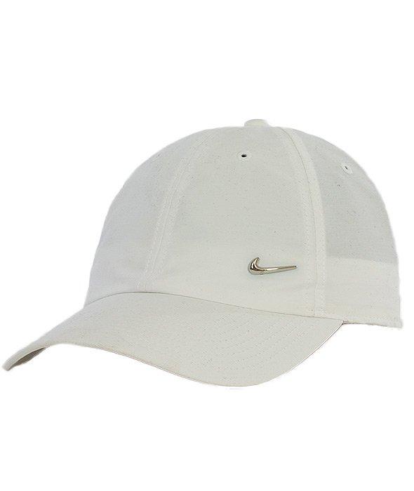 Nike-NSW Czapka z Daszkiem Biała [340225-100]
