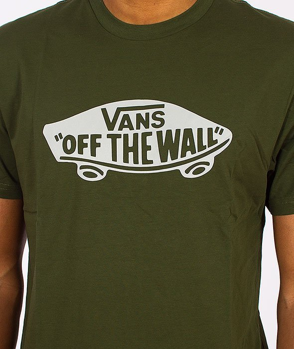Vans-OTW T-Shirt Rifle Green/Frost Grey