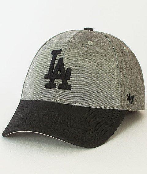47 Brand-All In Los Angeles Dodgers Czapka z Daszkiem Szara/Czarna
