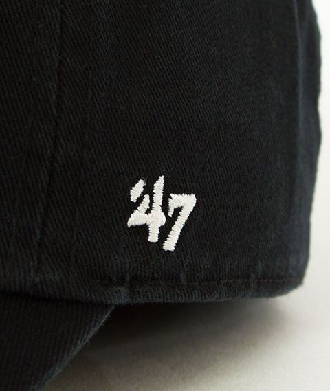 47 Brand-Detroit Tigers Czapka z Daszkiem Czarna