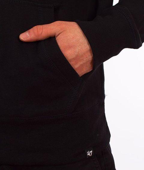 47 Brand-Brooklyn Nets Bluza Kaptur Czarna