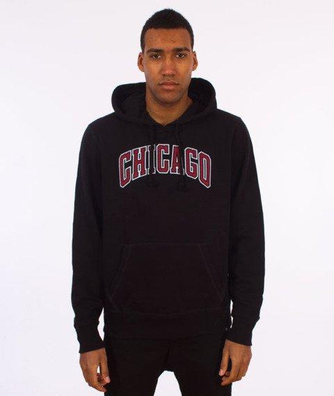 47 Brand-Chicago Bulls Bluza Kaptur Czarny