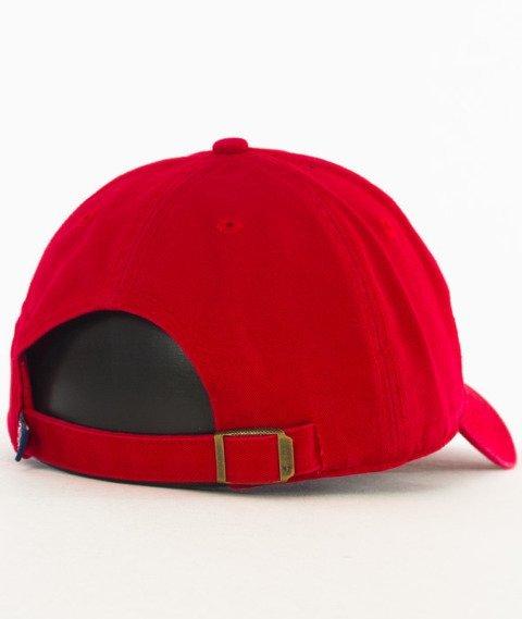47 Brand-Clean Up Boston Red Sox Czapka z Daszkiem Czerwnona