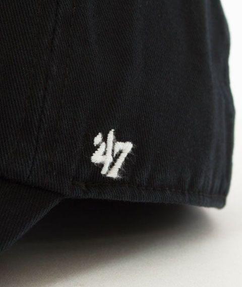 47 Brand-Clean Up New York Yankees Czapka z Daszkiem Czarna