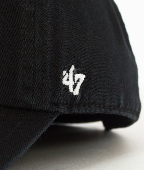 47 Brand-Clean Up Philadelphia Fyers Czapka z Daszkiem Czarna