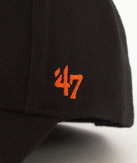 47 Brand-MVP Baltimore Orioles Czapka z Daszkiem Czarna