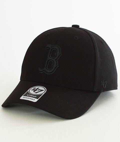 47 Brand-MVP Boston Red Sox Czapka z Daszkiem Czarna