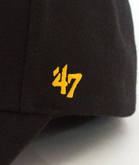 47 Brand-MVP Pirates Czapka z Daszkiem Czarna