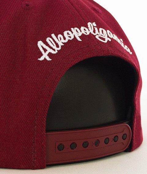 Alkopoligamia-Aa' Snapback Bordowy