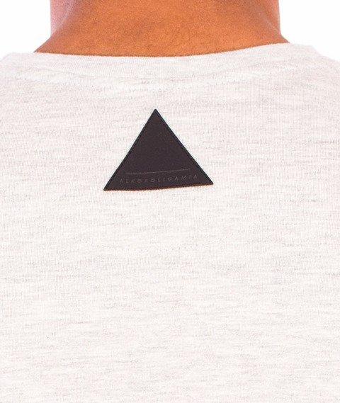 Alkopoligamia-Blinded Runner T-shirt Biały