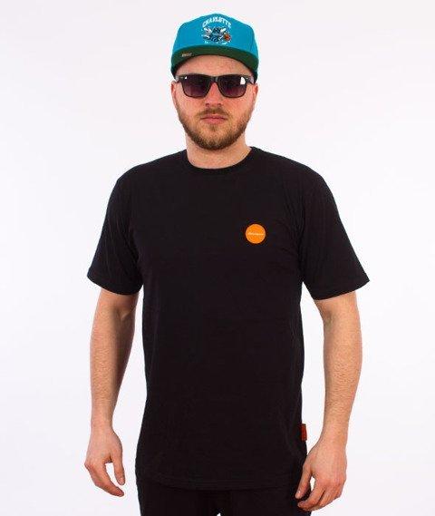 Alkopoligamia-Flag T-Shirt Czarny