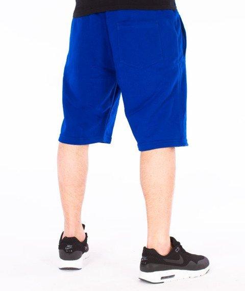Alkopoligamia-Loveyourlife Spodnie Krótkie Granatowe
