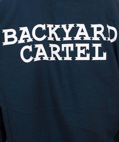 Backyard Cartel-Back Label Bluza Niebieska