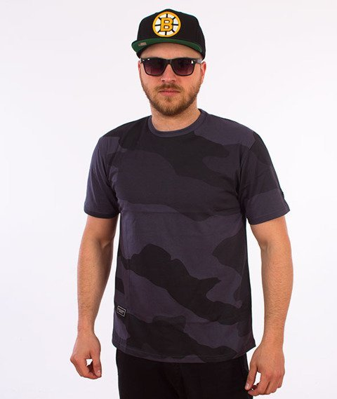 Backyard Cartel-Big Woodland T-Shirt Szare Camo