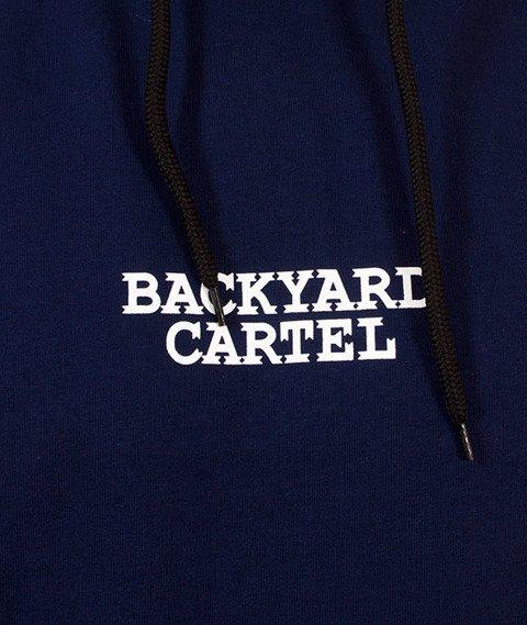 Backyard Cartel-Cartel Hoody Bluza Kaptur Granatowa