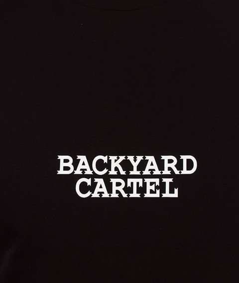 Backyard Cartel-Cartel T-Shirt Czarny