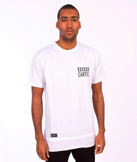 Backyard Cartel-Coach Long T-Shirt  White