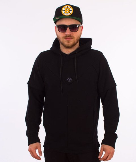 Backyard Cartel-Direction Hoody Bluza Kaptur Czarna